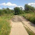 Участок отремонтированной дороги